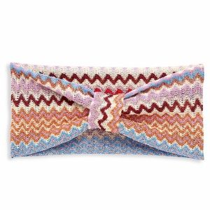 Missoni knit chevron print headband